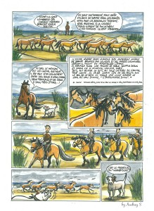 Qalo & Lolotte - Baie de Somme - Bande dessinée by Audrey S