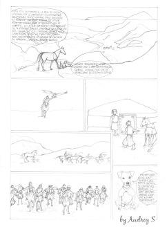 Qalo & Lolotte - Bande dessinée La Mongolie