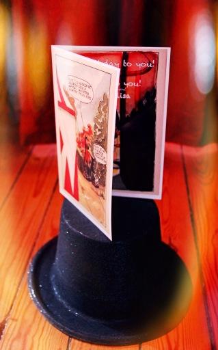 Qalo & Lolotte - Carte d'anniversaire imprimée (rendu final)
