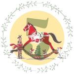 Calendrier de l'avent : Création d'un cheval doudou